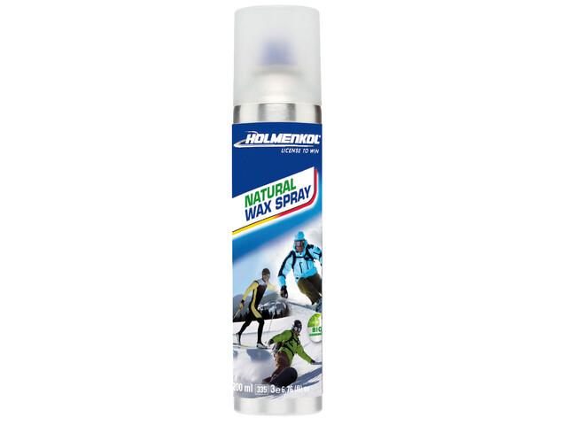 Holmenkol Natural Wax - 200ml azul/blanco